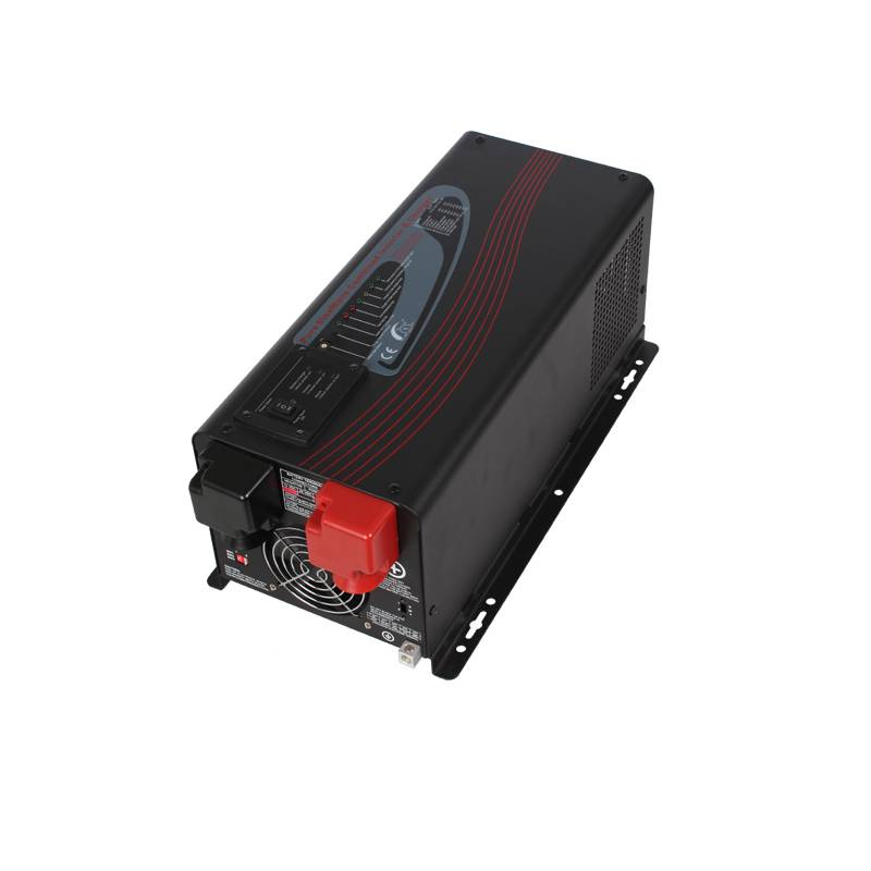 6000W 48VDC 110V/230VAC Self Charging Off Grid Solar Power Inverter with Inverter Charger