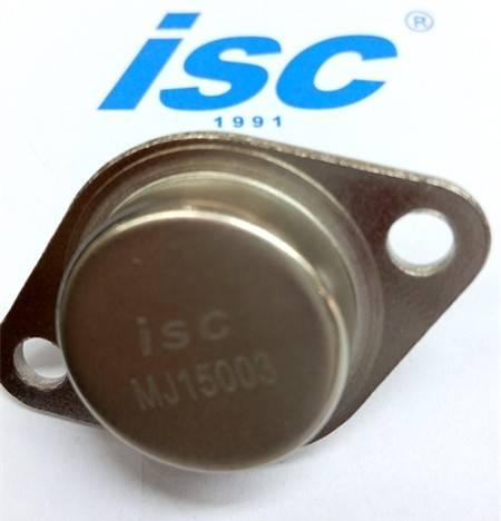ISC sillicon NPN power transistor MJ15003