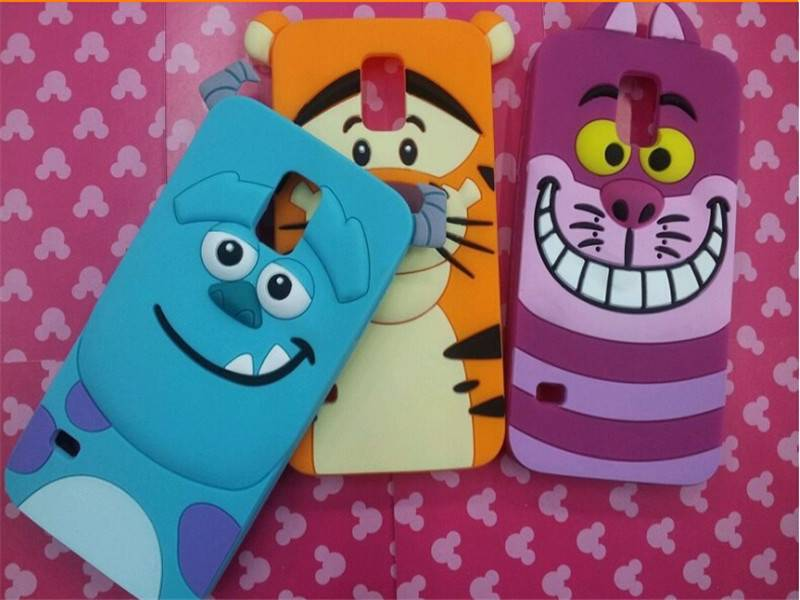 pvc silicone ipone 6 6s mobile phone case manufactory of disney