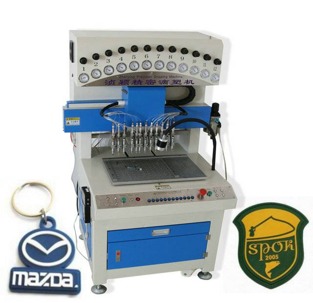 PVC labelling machine for Sliper uppers