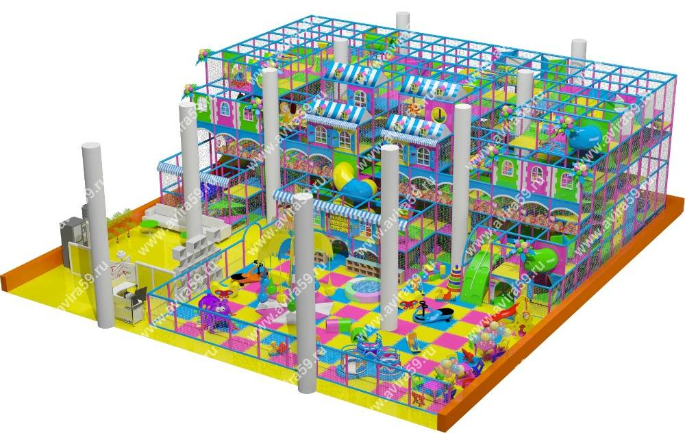 Indoor playground Toy House
