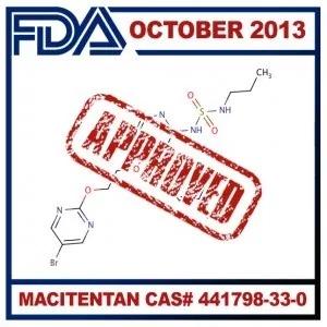 API Macitentan// Cas No. 441798-33-0// C19H20Br2N6O4S