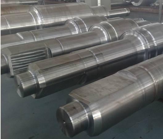 big Shaft Forging,forged round steel