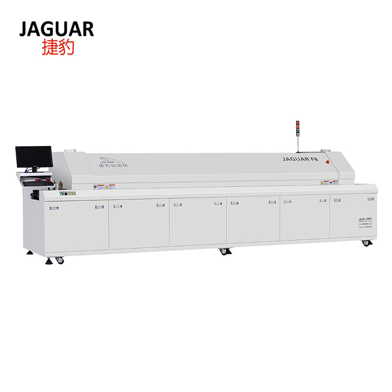 SMT Reflow oven LED PCB reflow soldering machine Made in China