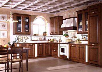 High Quality Customized Solid Wood Kitchen Cabinets( Customized color, size & designs)