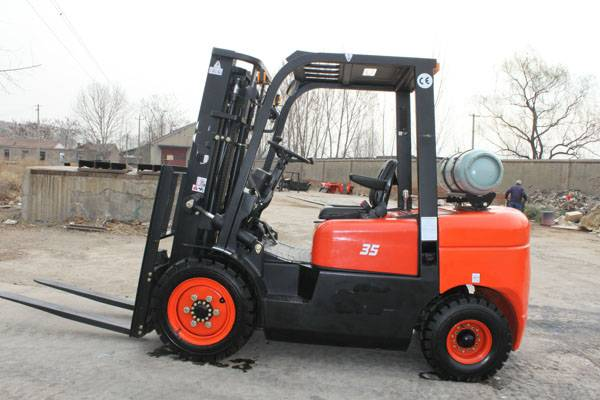 High qualitynew model  3.5t gasoline/LPG forklift