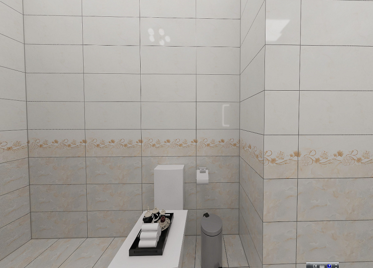 Foshan New Design Ceramic Floor Tiles and Wall Tiles Glossy Tiles for Home Decoration (300X600mm)