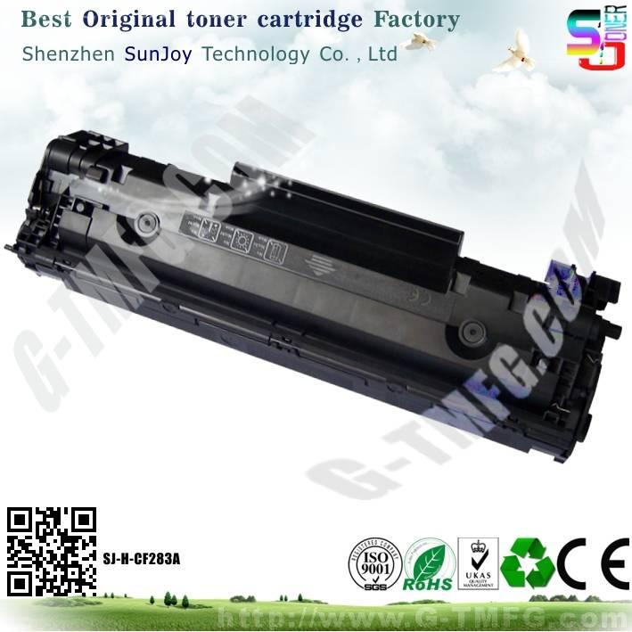 Sunjoy 83A toner cartridge CF283A compatible for HP Laserjet  Pro MFP M127fn (CZ181A) M127fw (CZ183A