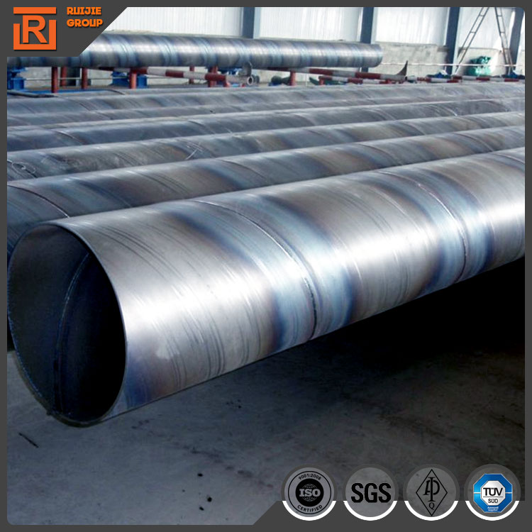 Large diameter Q235 ssaw steel pipe for steel piles