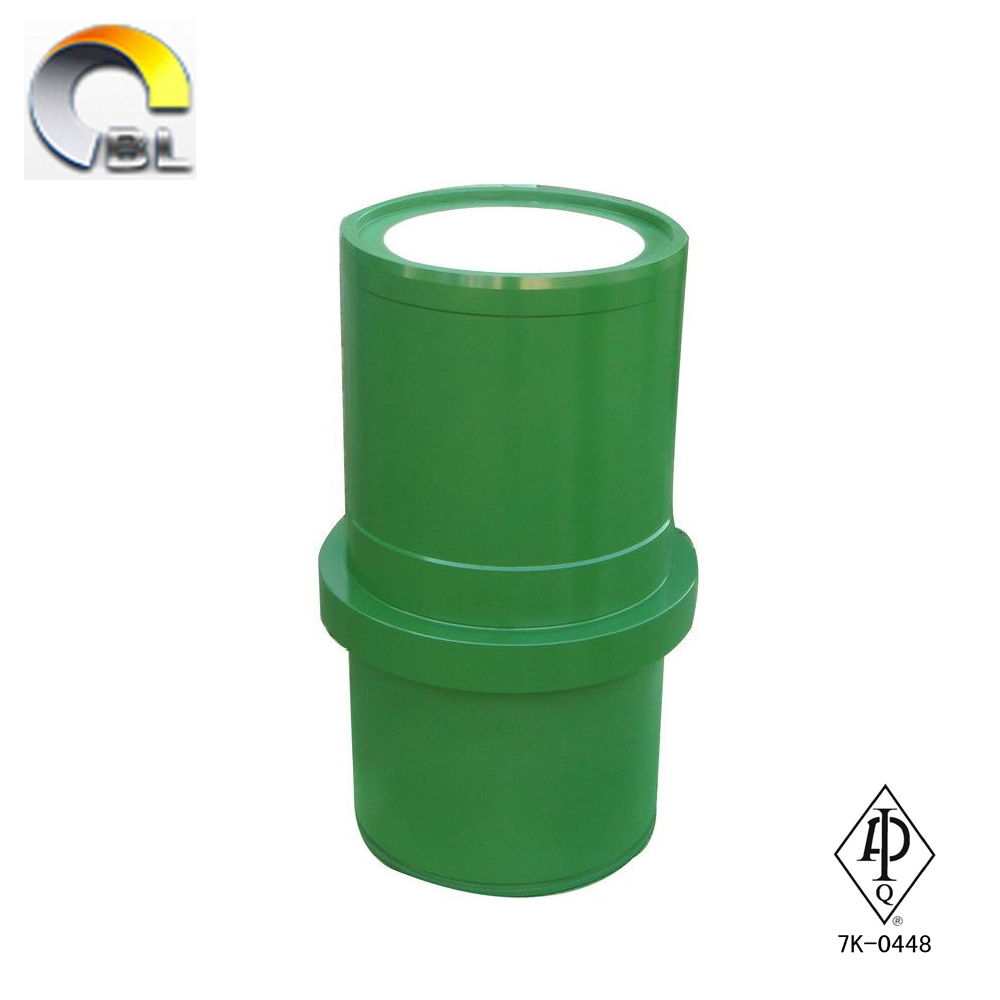 API drilling mud pump liners / ceramic zirconia liners / triplex mud pump spare parts