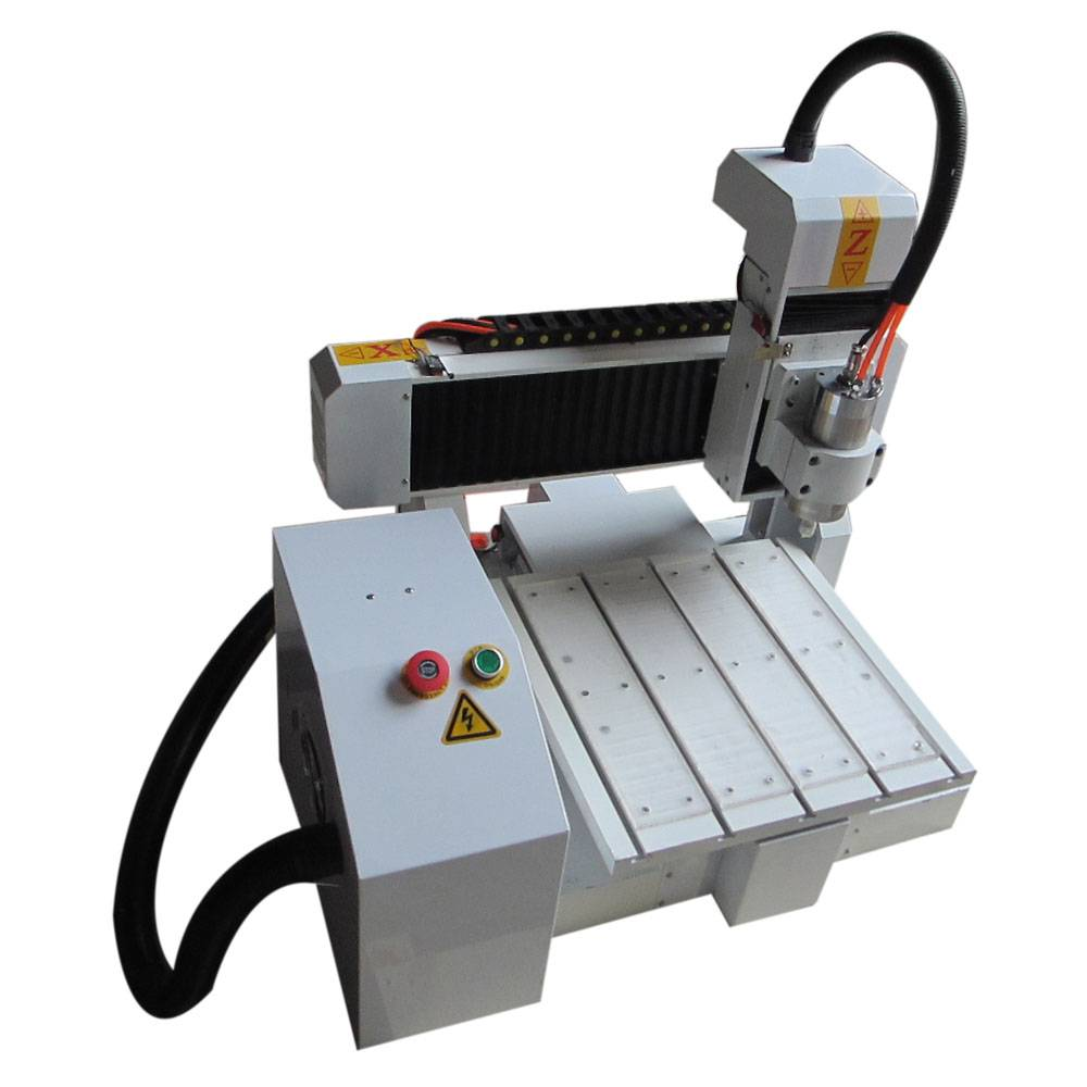 high precision air cooled 800w mini cnc router for aluminum