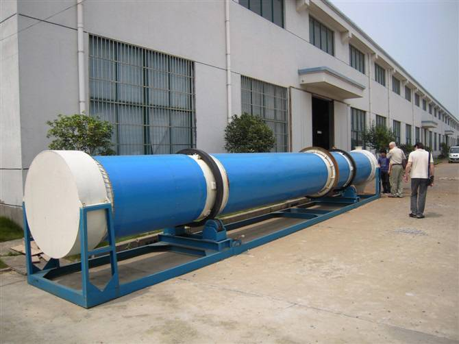 sludge rotary dryer
