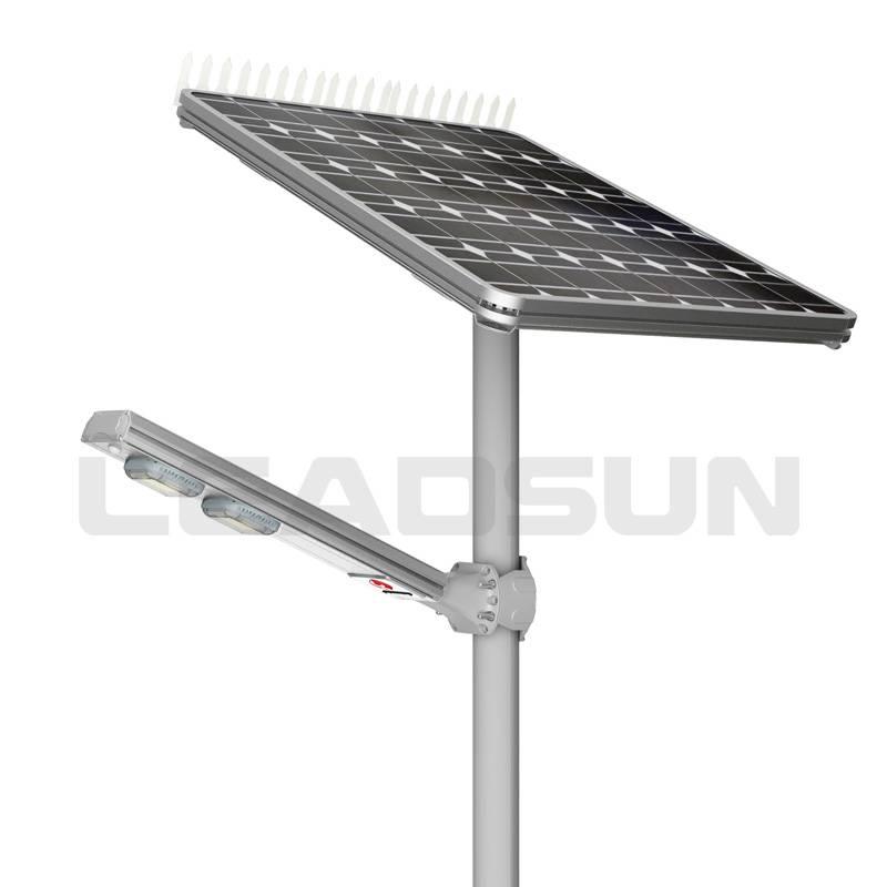 AE6 60W split type -- Leadsun outdoor intergrate solar street light, all in one solar led garden lig