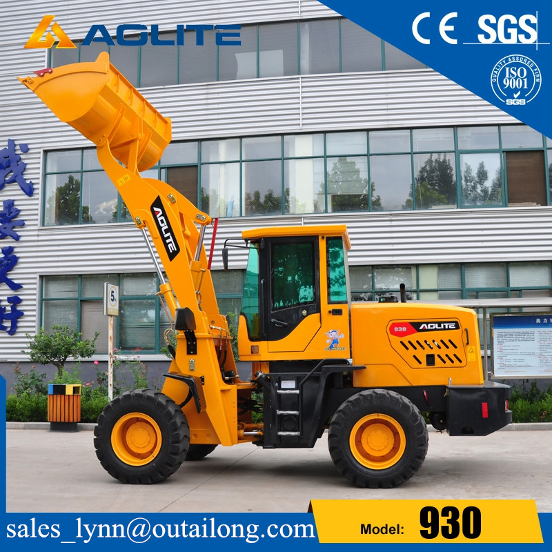 44 Articulated Small Tractor Wheel Loader with Low Prices for Sale