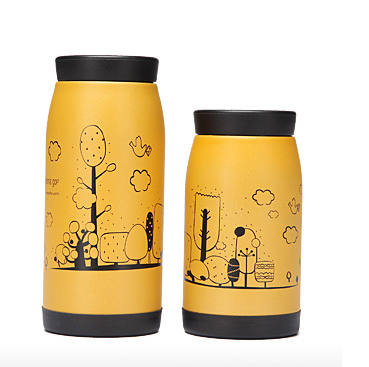 Stainless steel double wall insulated vacuum water thermos bottle