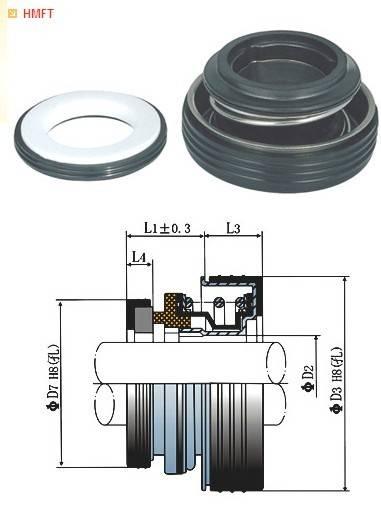 elastomer bellow shaft mechanical seals