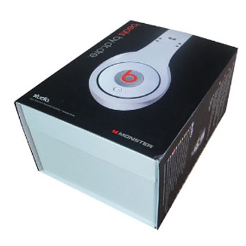 OEM factory supply package paper box for headphone