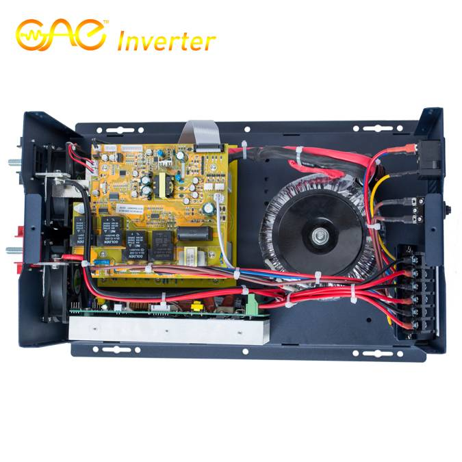 24V 2000W Low Frequency Pure Sine Wave Inverter with MPPT Solar Controller and AC charger FSI-20224