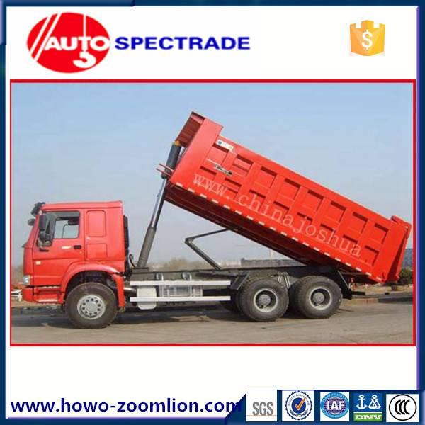 dump truck 25 ton Sinotruk Golden Prince 6*4