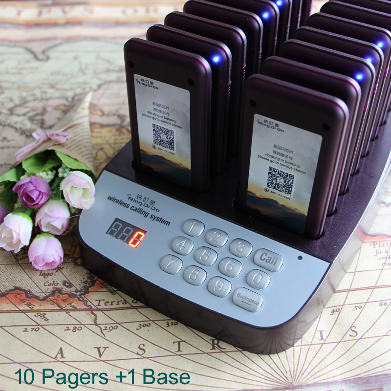 take food pagers,wireless restaurant coaster pagers,guestcall wireless paging system