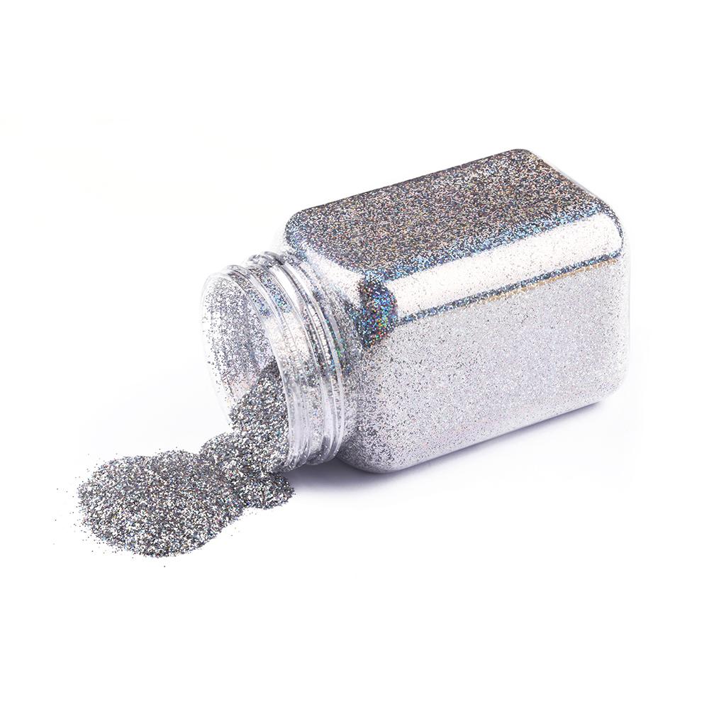 Beauteaful nail art glitter powder 1 kg special shape nail glitter bulk