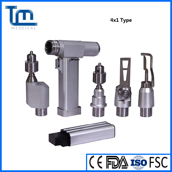 Orthopedic medical drill saw system