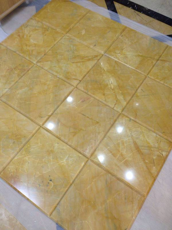 Chinese Yellow Marble Tiles (Cut To Sizes) - Golden Marble