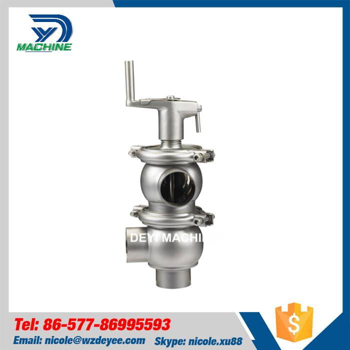 Sanitary Stainless Steel Manual Shut Off Valve