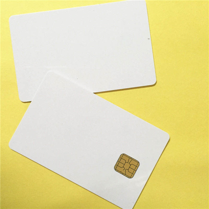 Printable Blank Contact PVC Smart IC Card with Sle4428 Chip For Epson/Canon Inkjet Printe card