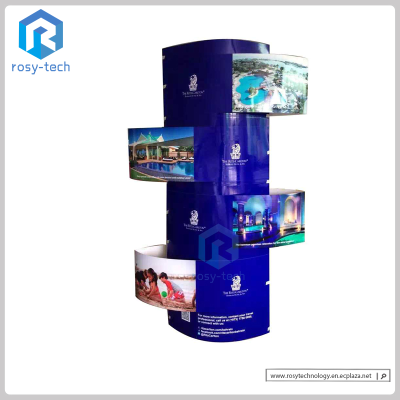 Reliable Cheap Custom Design Advertising Outstanding Cardboard Totem Display Stand, Lama Display