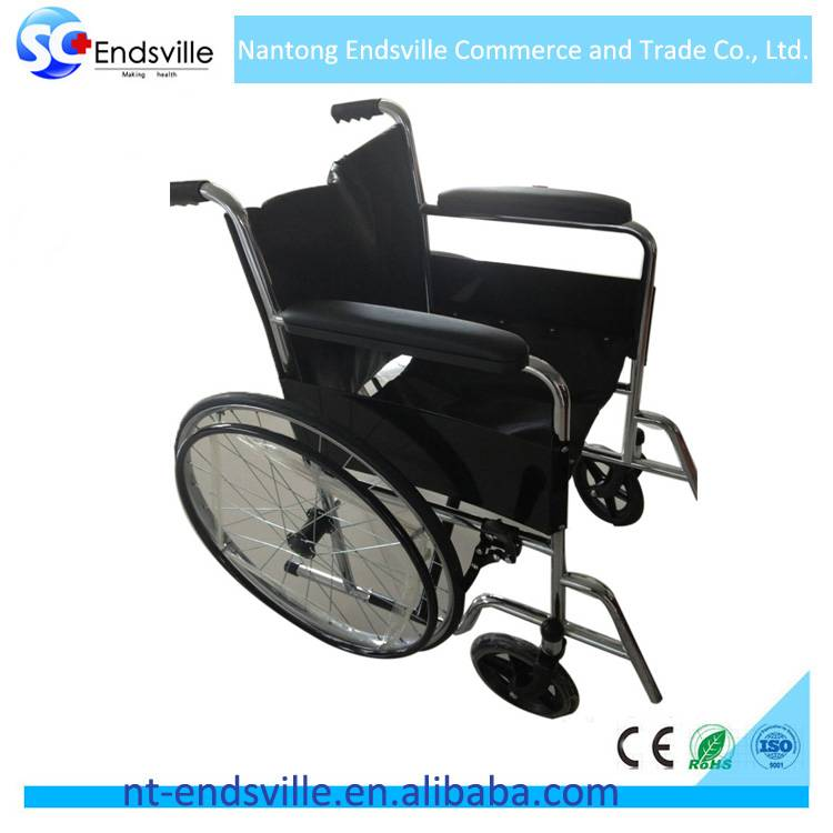 Foldable wheelchair for sale