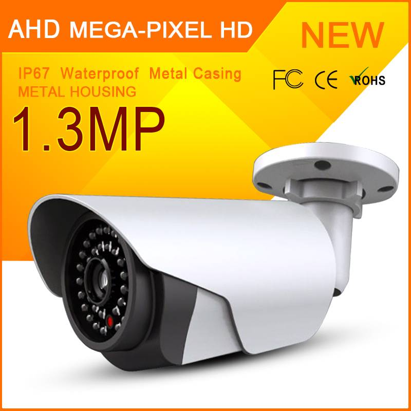 Manufacture Supply 1.3MP AHD CCTV Monitoring Camera