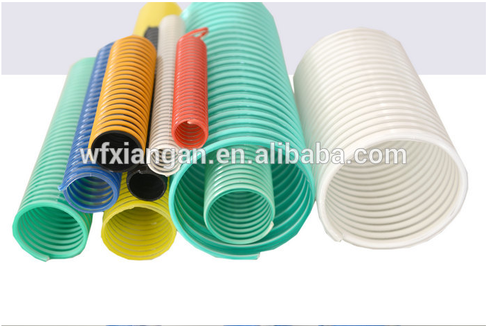 spiral surface PVC suction hose