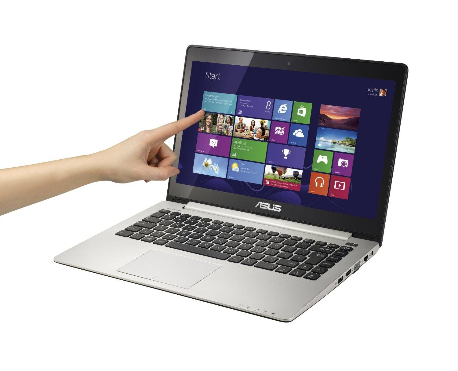 ASUS Ultrabook  14-Inch Touchscreen Laptop