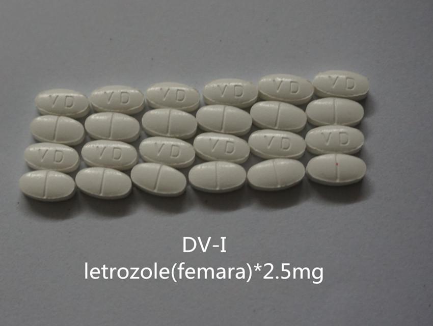 Letrozole Oral Tablets / Femara Pills(2.5mg/piece,100P/bottle)
