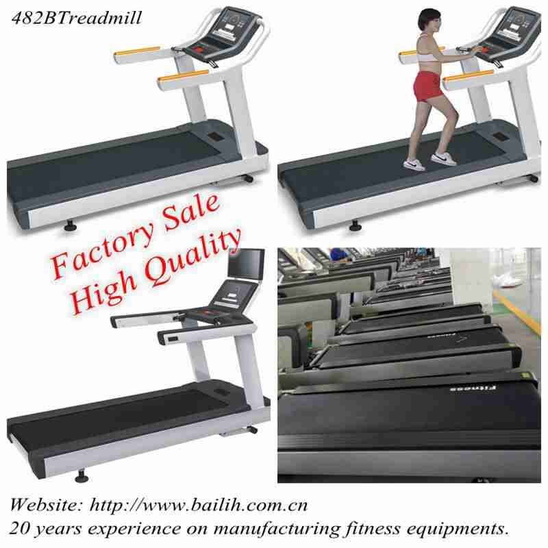 Running Machine/ Gym Equipment Model 482F Commercial Treadmill With Factory Sale