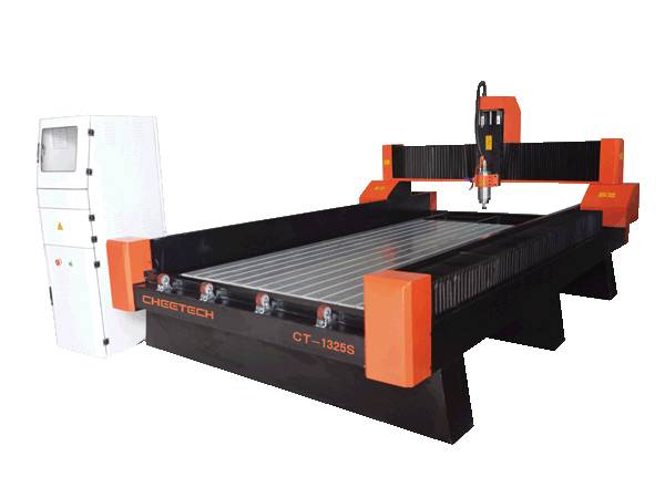 1325 servo drive Stone CNC Router 5.5kw water-cooling spindle