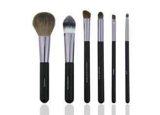 6 Piece Travel Makeup Brush Set