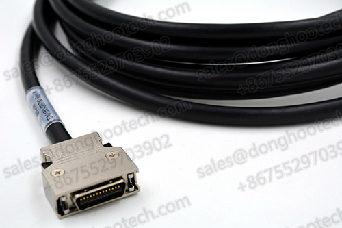 MDR Cable Assembly 14136-SZ6B-030-0HC Mini D Ribbon High Speed Video Data Transmission System 36 Position