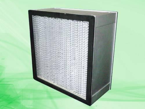 Deep-pleat high efficiency filter