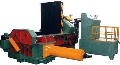 Scrap Metal Baler Machine
