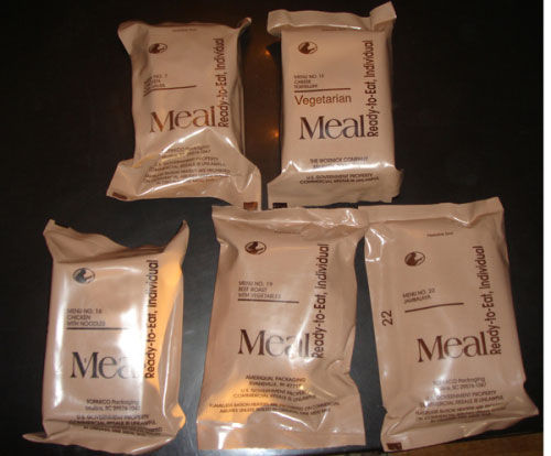Popular heat seal aluminum foil custom plastic MRE Pouch