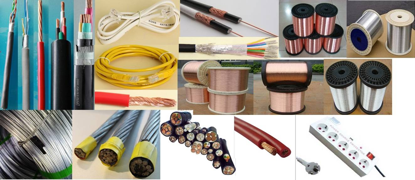 Lan cable/tel & net cable/Coaxial Cable/speaker & signal cable