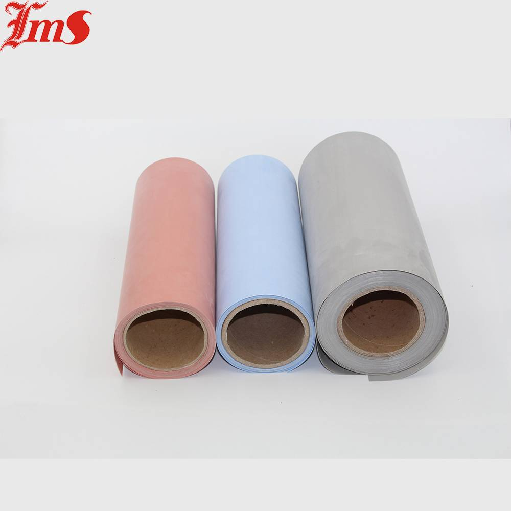 Adhesive Backed Anti-Slip High Temperature Colorful Silicone Rubber Sheet