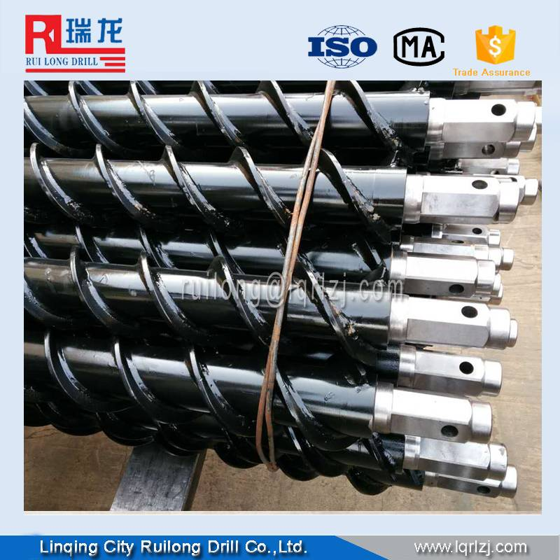 30mm diameter spiral drill rod in large stock