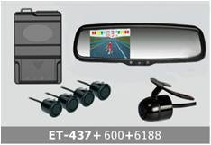 Video Parking System TFT LCD waterproof ET-437+600+6188