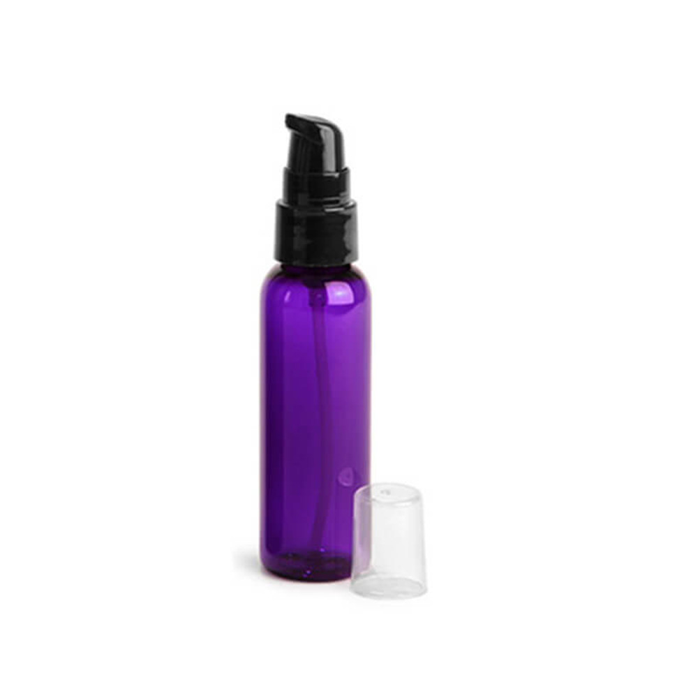 Best Selling 60ml PET cosmetic pump bottle for personal care