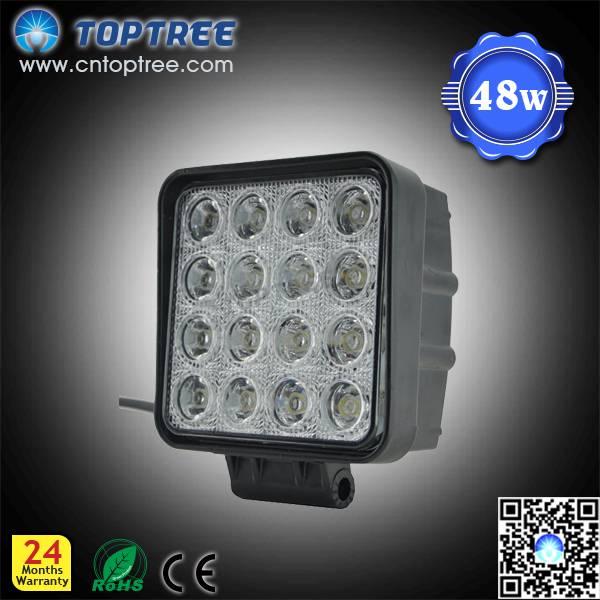 48W super bright LED work light for auto