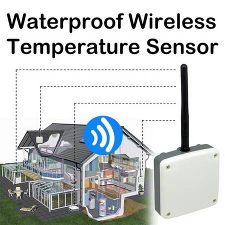 Waterproof Wireless Temperature Sensor