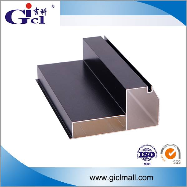 Gicl 4590F2 extruded alloy profile for p10 320*160 module outdoor full color display led aluminum fr